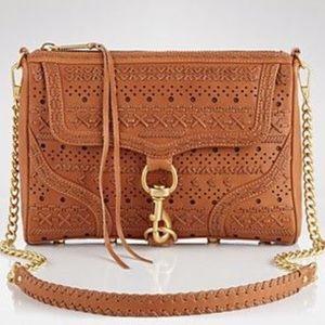 Rebecca Minkoff M.A.C. Woven Leather Crossbody
